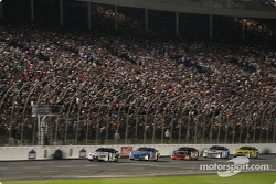 Another restart: Ryan Newman leads the field