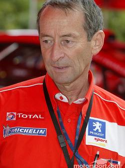 Peugeot's Vincent Laverne