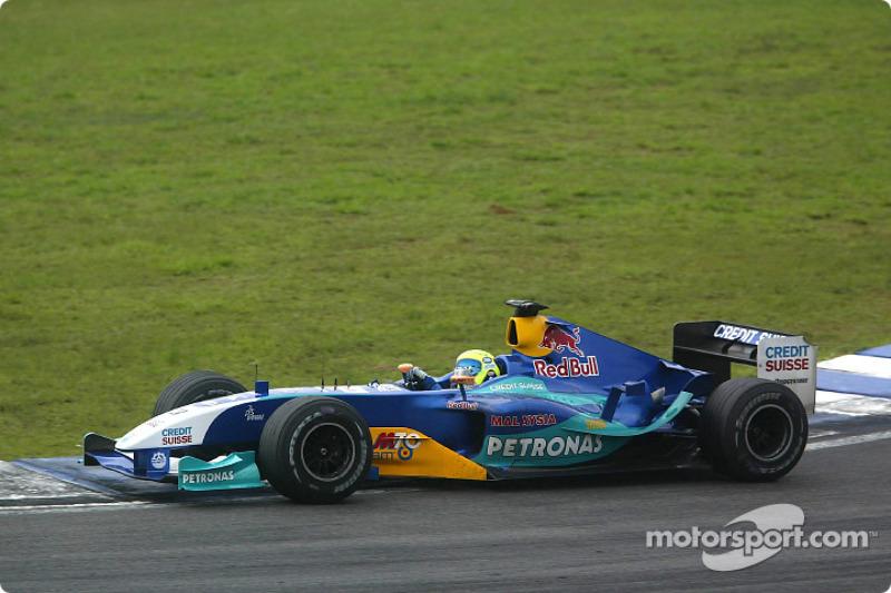 2004 - 2005: Sauber