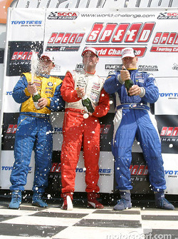 Champagne for Pierre Kleinubing, Justin Marks and James Clay