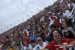 Phoenix International Raceway fans during the red flag