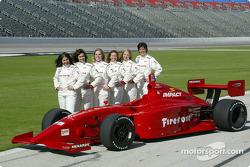 Wendy Mathis, Juliana Chiovitti, Rossella Manfrinato, Becca Anderson, Sarah McCune and Sandi Eden