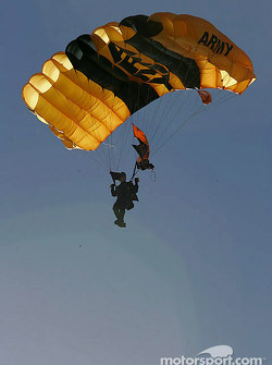 Golden Knights skydiver
