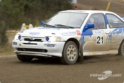 #21 - Martin Donnelly and Robin Fleguel, 1993 Ford Escort Cosworth RS, Open