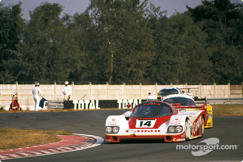 #14 Richard Lloyd Racing Porsche 956: Jonathan Palmer, Jan Lammers, Richard Lloyd