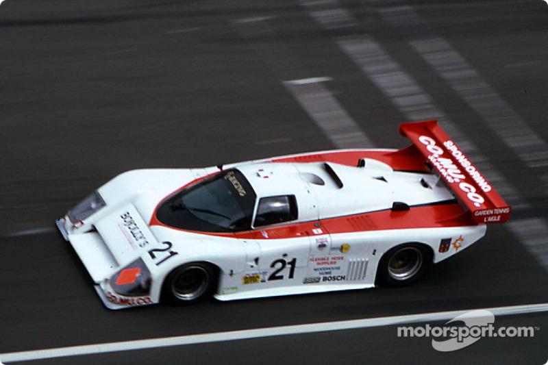 #21 Richard Cleare Racing March 85 G Porsche: Lionel Robert, Jack Newsum, Richard Cleare