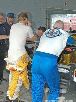 Terry Borcheller and Paul Tracy