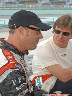 Bill Auberlen and Didier Theys