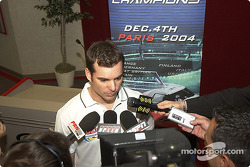 Jeff Gordon confirmed his participation at the Race of Champions 2004
