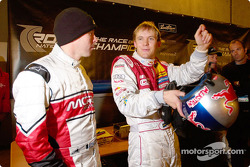 Colin McRae and Mattias Ekström