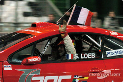 Final: winner Sébastien Loeb celebrates