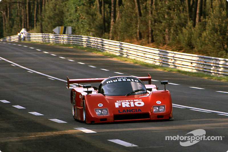 #29 Mussato Action Car Lancia LC2 Ferrari: Ernst Franzmaier, Franco Scapini, Almo Coppelli