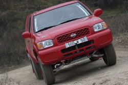 Isabelle Patissier tests the Nissan Terrano