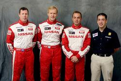 Nissan Rally Raid Team presentation: drivers Colin McRae, Ari Vatanen and Giniel De Villiers