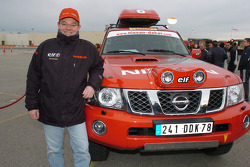 Nissan Rally Raid Team's Gilles Martineau
