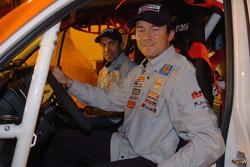 Toyota Challenge team presentation: driver Manuel Marques Paulo