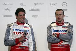 Ricardo Zonta and Olivier Panis