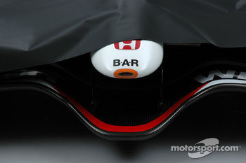 The new BAR Honda 007 about to be unveiled