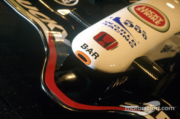 Nose cone of the new BAR Honda 007