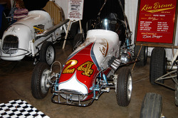 #24 Ken Brenn Offy Midget.  Drivers included Bobby Unser, Don Branson and Len Duncan.  Dubbed