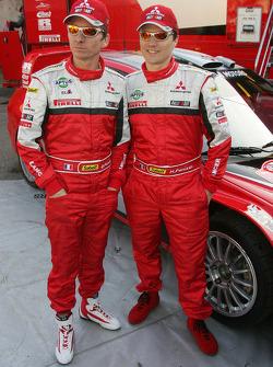 Mitsubishi Motors Motor Sports presentation: Gilles Panizzi and Hervé Panizzi