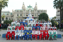 The drivers and co-drivers of the 2005 World Rally Championship