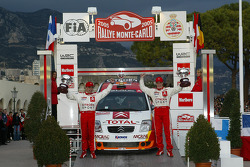 Podium: Kris Meeke and Chris Patterson