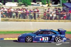 #71 Jacadi Racing Venturi 500 LM: Jacques Laffite, Christophe Dechavanne, Michel Maisonneuve