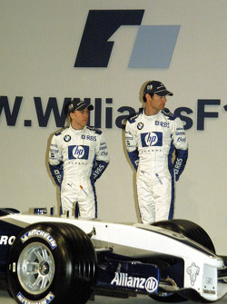 Nick Heidfeld and Mark Webber