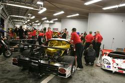 Howard - Boss Motorsports garage area