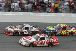 Dale Earnhardt Jr., Greg Biffle and Casey Mears