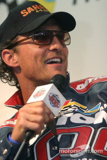 Press conference: Grand Marshal Matthew McConaughey
