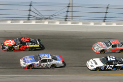 Jamie McMurray, Mike Skinner, Ryan Newman and Sterling Marlin