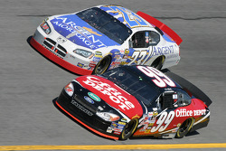 Carl Edwards and Mike Skinner