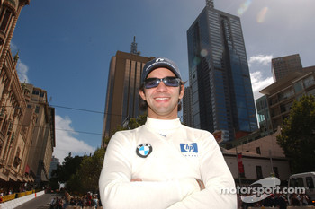 Street parade in Melbourne: Antonio Pizzonia