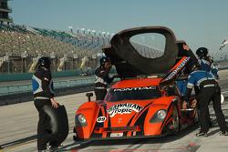 Pitstop for #09 Spirit of Daytona Racing Pontiac Crawford: Stephan Gregoire, Doug Goad