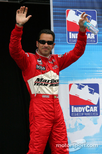 Drivers presentation: Helio Castroneves