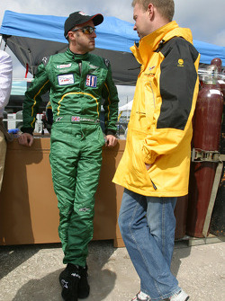 David Brabham and Jan Magnussen