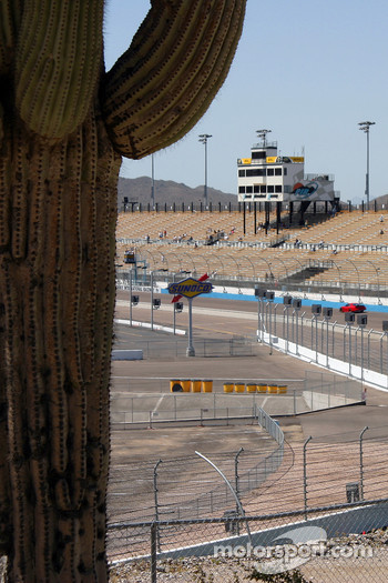 Scene at Phoenix International Raceway