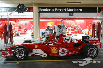 The new Ferrari F2005