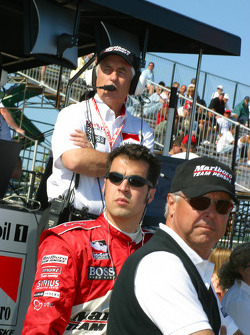 Roger Penske, Rick Mears and Sam Hornish Jr.