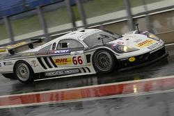 #66 Graham Nash Motorsport Saleen S7R: Matteo Bobbi, Paolo Ruberti, Stéphane Lemeret