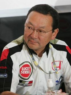 Honda Racing Development President Yashurio Wada