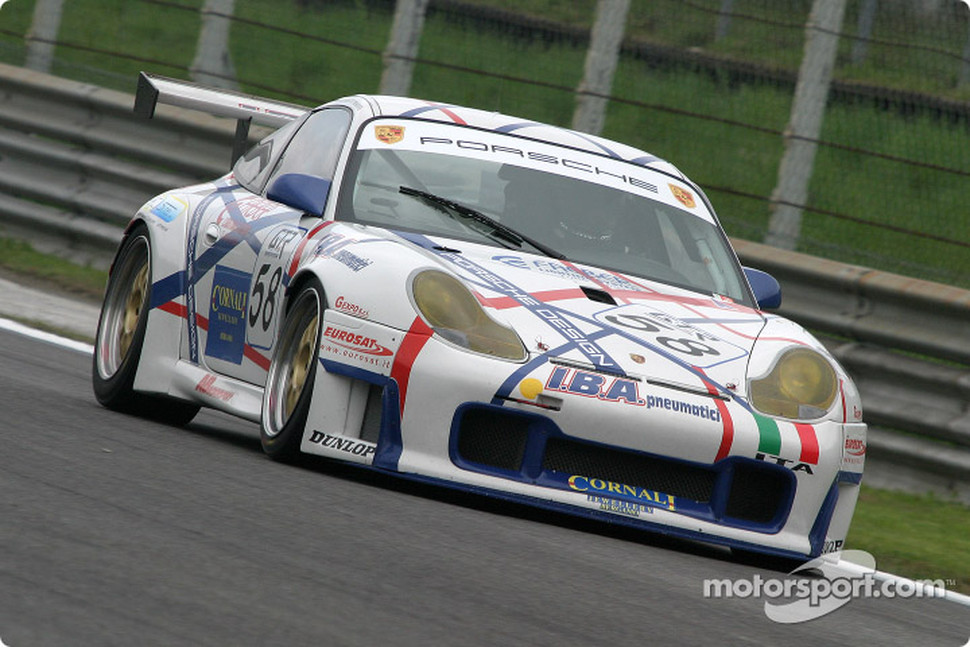 #58 AB Motorsport Porsche 996 GT3 RSR: Antonio de Castro, Renato Premoli, Bruno Barbaro