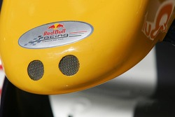 Nose cone of the Red Bull Racing