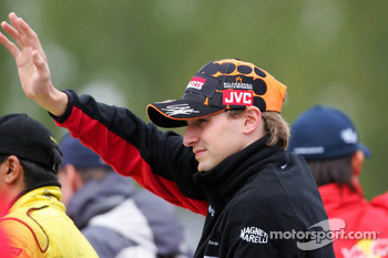 Drivers parade: Christijan Albers