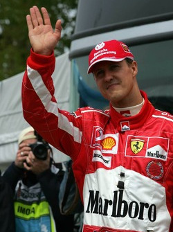 Shell media event: Michael Schumacher