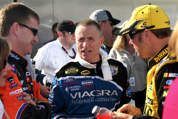 Jeff Burton, Mark Martin and Matt Kenseth