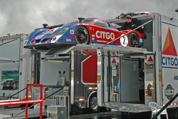 CITGO - Howard - Boss Motorsports Pontiac Crawford is unloaded