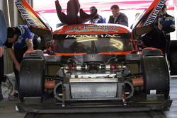 Spirit of Daytona Racing garage area